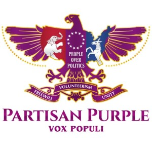 Bird logo - Partisan Purple