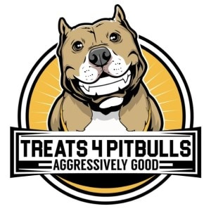 Dog logo - Treats 4 Pitbulls