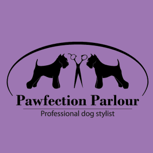 Dog logo - Pawfection Parlour
