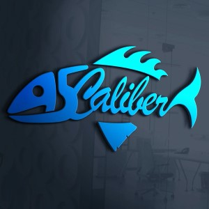 Fish logo - A5 Caliber