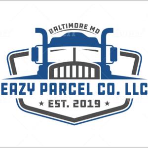 Truck logo - Eazy Parcel Co. LLC