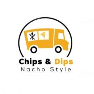 Truck logo - Chips & Dips Nacho Style