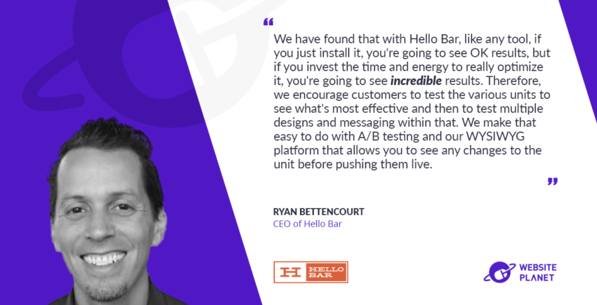 Convert Visitors into Customers with Hello Bar