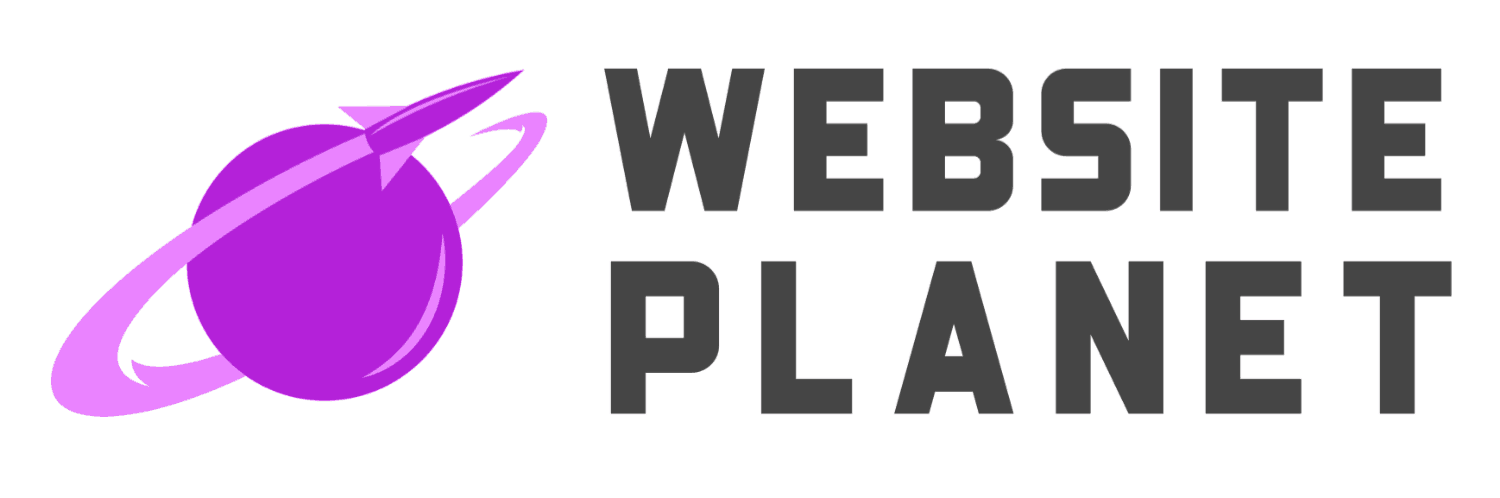 Website Planet logo created with Placeit Logo Maker