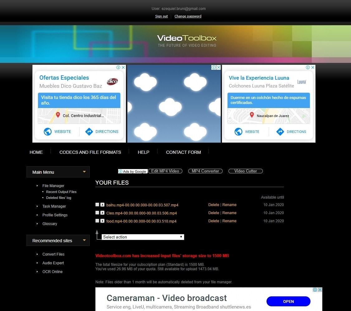 best online video editors - video toolbox