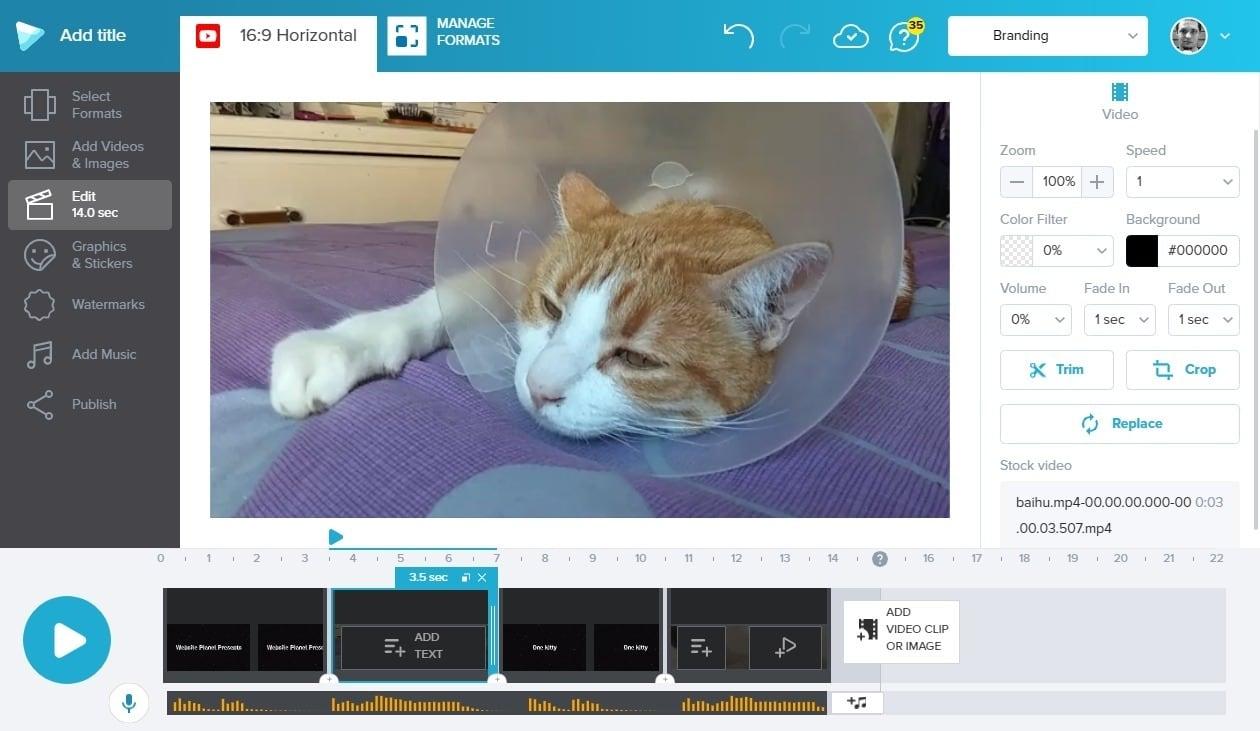 best online video editors - wave.video