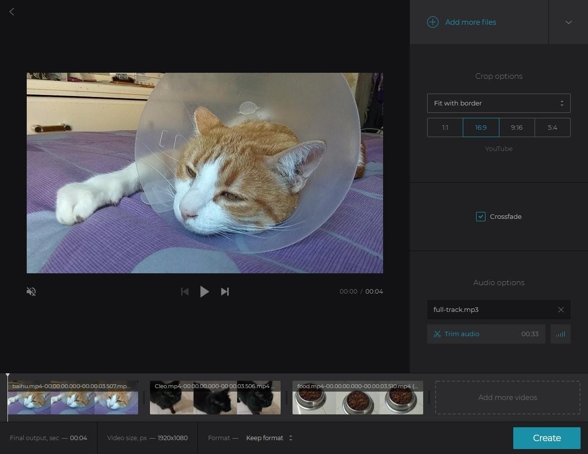 best online video editors - clideo video maker