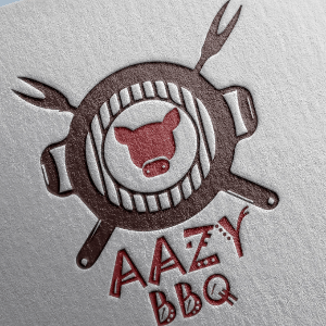 BBQ logo - AAZY BBQ