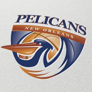 Basketball logo - Pelicans