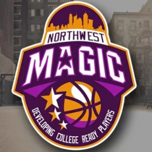 Basketball logo - Northwest Magic