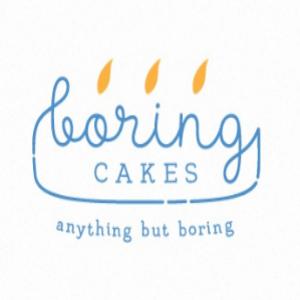 Cake logo - Boring Cakes