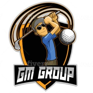 Golf logo - GM Group