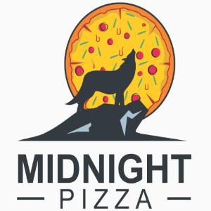 Pizza Logo - Midnight Pizza