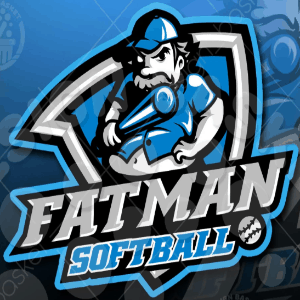 Softball logo - Fatman