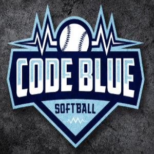 Softball logo - Code Blue