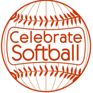 Softball logo - Celebrate