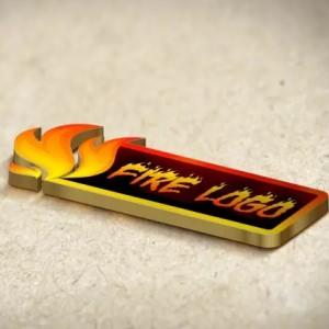 Fire logo - Banner