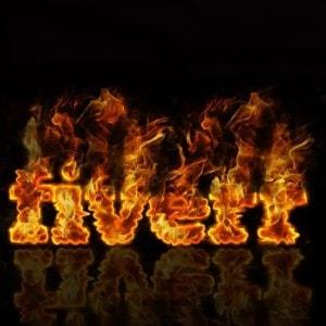 Fire logo - Fiverr
