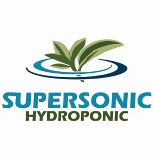 Leaf logo - Supersonic Hydroponic