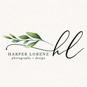 Leaf logo - Harper Lorenz