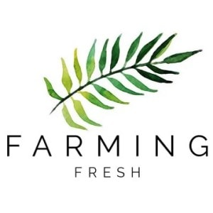 Leaf logo - Farming Fresh