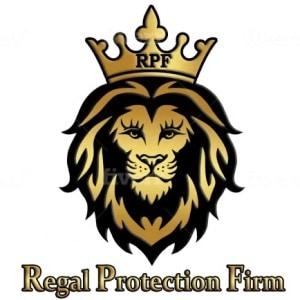 Lion logo - Regal Protection Firm