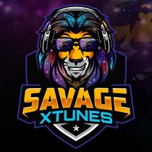 Lion logo - SAVAGE XTUNES