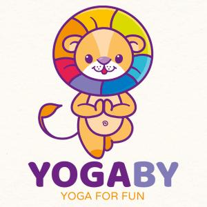 Lion logo - YOGABY