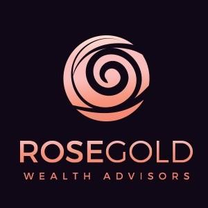 Rose logo - Rose Gold