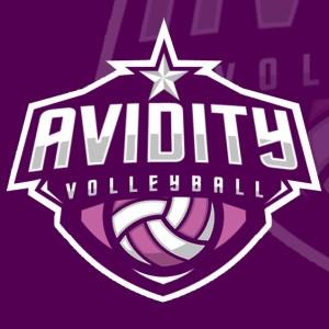 Volleyball logo - Avidity