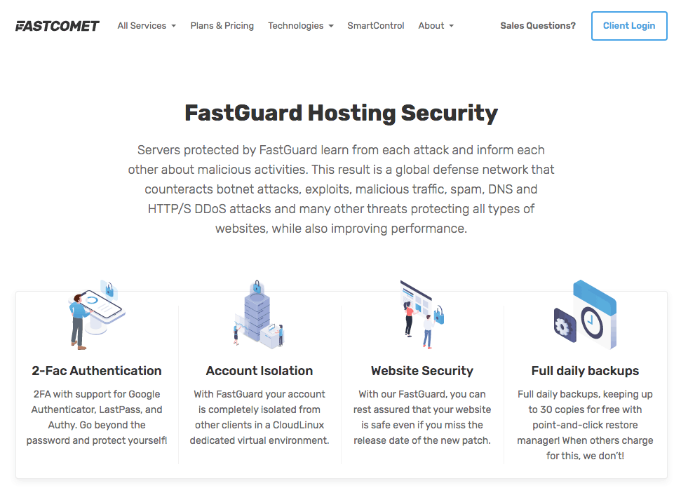 FastComet's FastGuard Hosting Security