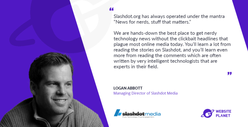 Slashdot Media – Building First-Rate Online Technology Communities