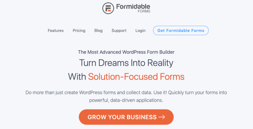 formidable-forms-builder