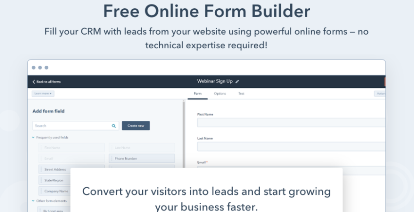 hubspot-form-builder