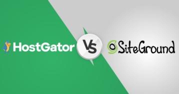 SiteGround vs HostGator – quel est le meilleur hébergeur web pour WordPress ?