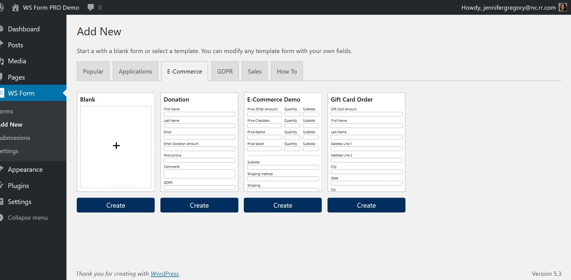 WS Form Form Builder for WordPress