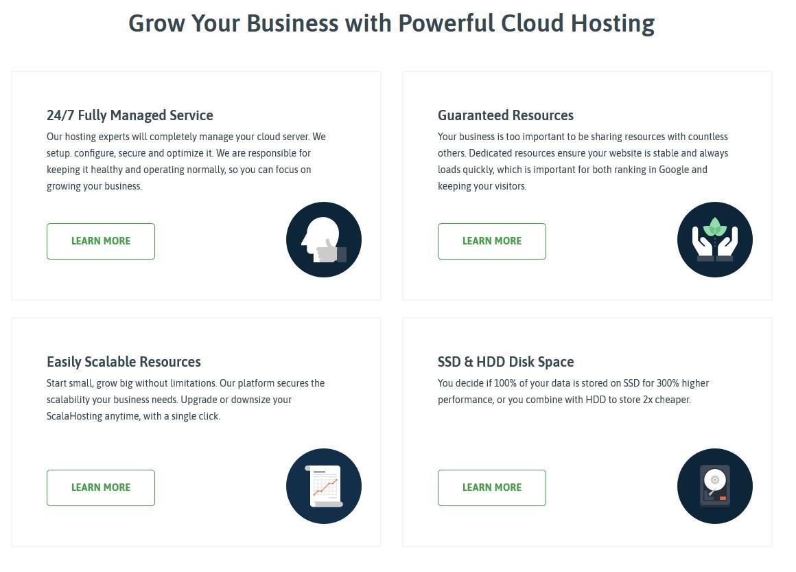Scala Hosting Cloud Hosting