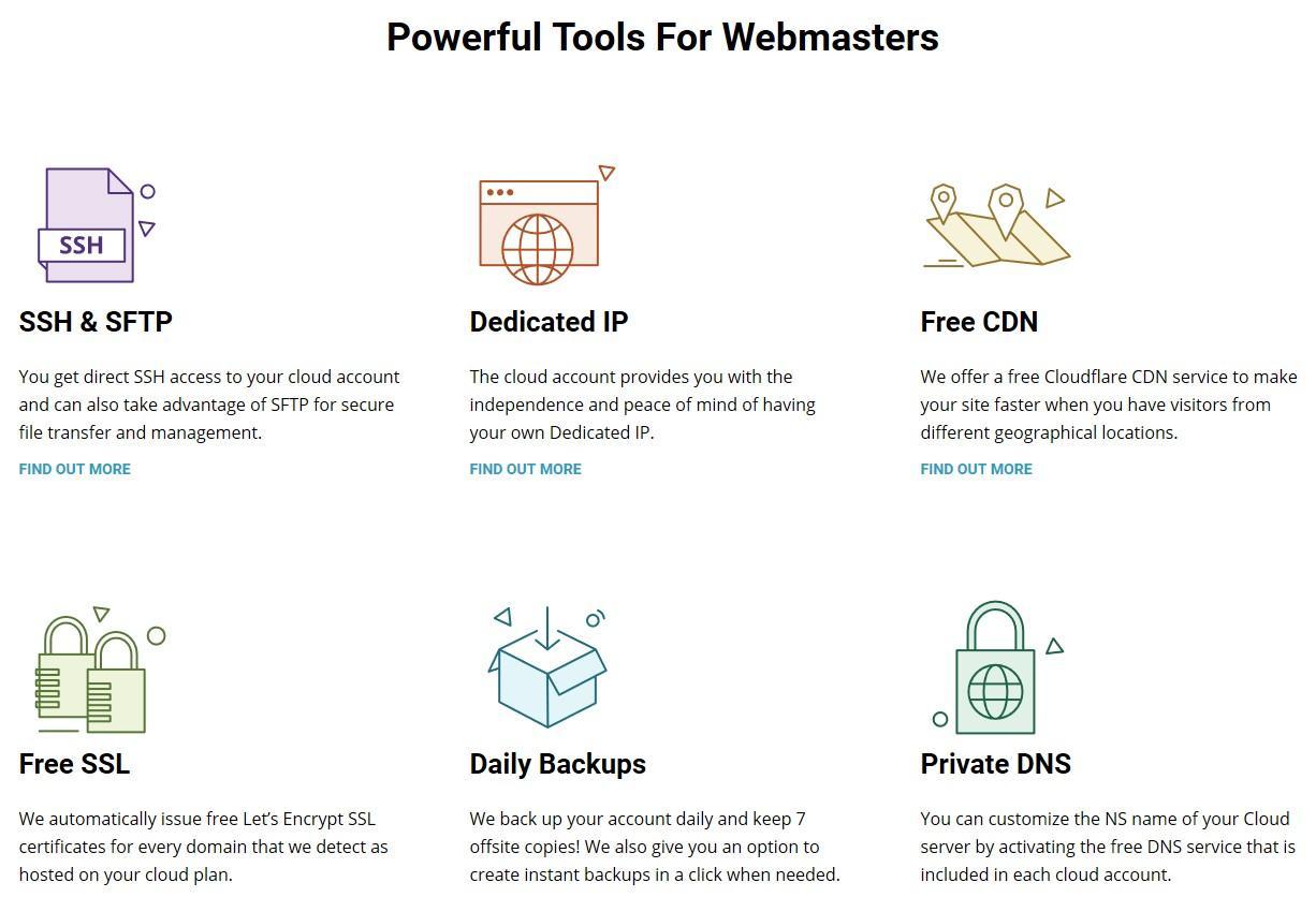 SiteGround Webmaster Tools