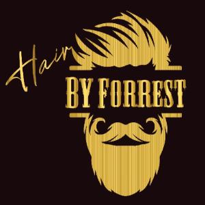 Barber logo - Man & Moustache
