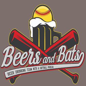 Beer logo - Beers and Bats