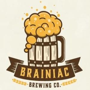 Beer logo - Brainiac