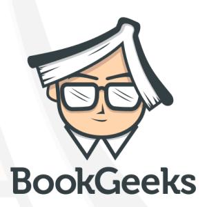 Book logo - BookGeeks