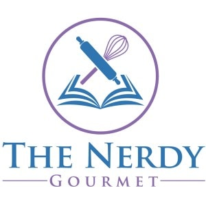 Book logo - The Nerdy Gourmet
