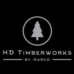 Circle logo - HD Timberworks