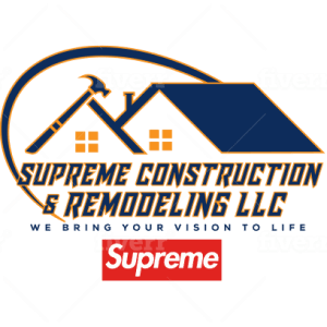 Construction logo - Supreme Construction and Remodeling LLC