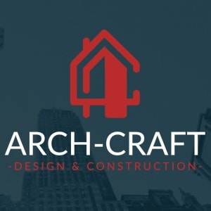 Construction logo - Arch-Craft Design & Construction