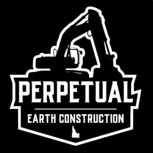 Construction logo - Perpetual Earth Construction