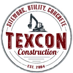 Construction logo - Texcon Construction