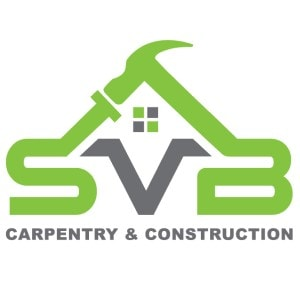 Construction logo - SVB Carpentry & Construction