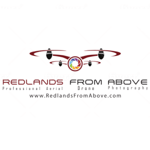 Drone logo - Redlands from Above